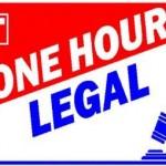 One Hour Legal Logo