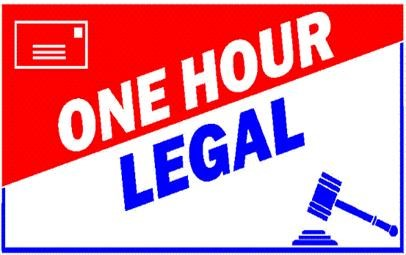 One Hour Legal Logo