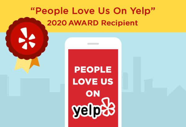 Yelp Award 2020